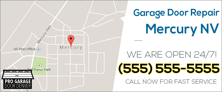 garage door repair mercury nv