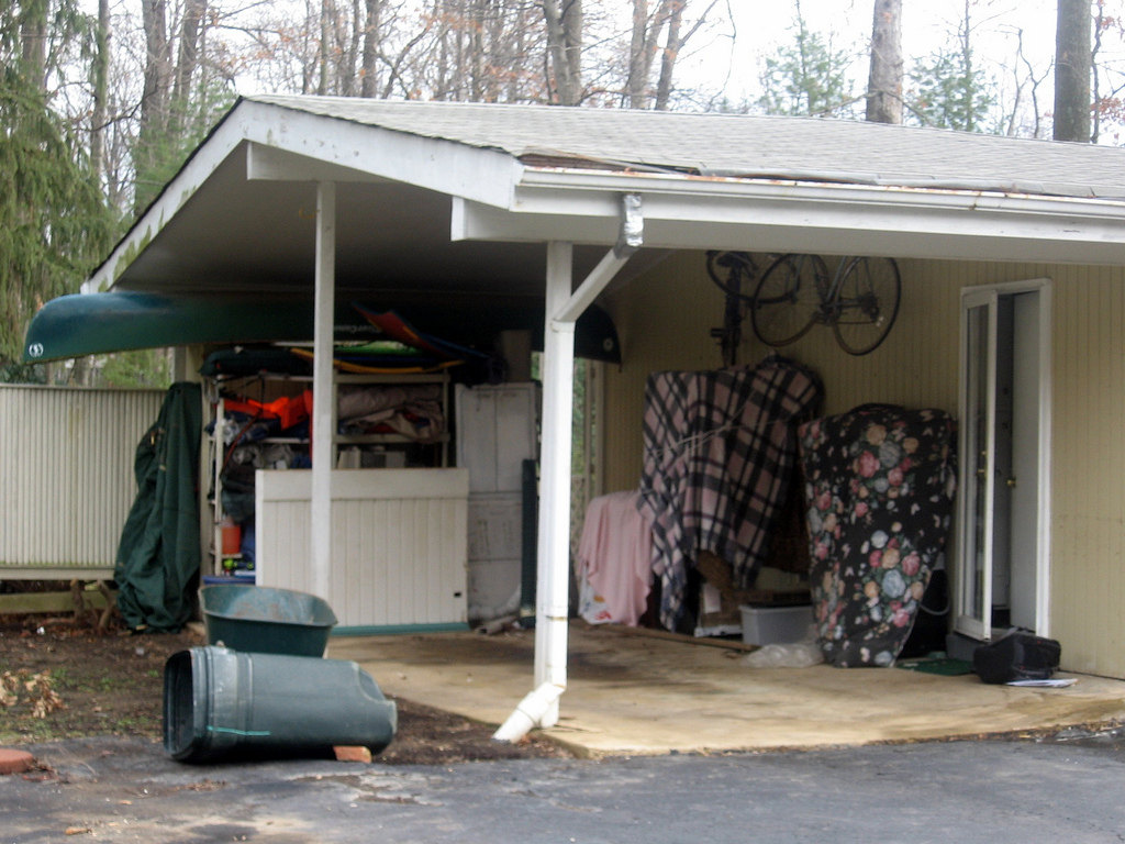 Turning your carport into a garage adds value best for Carport garage